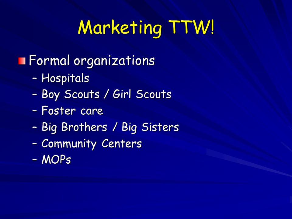 Marketing TTW.