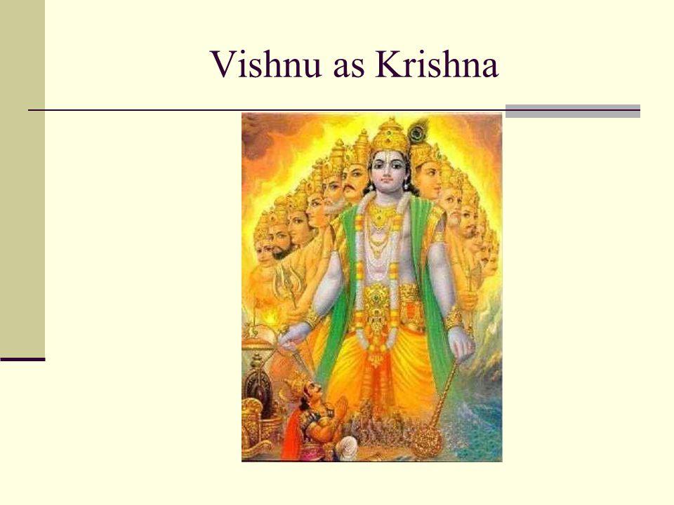 Vishnu as Krishna