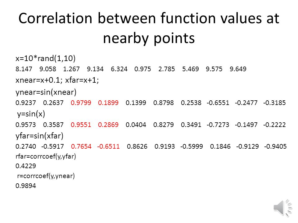 Reminder: Covariance and Correlation Covariance of two random variables X and Y The covariance of a random variable with itself is the square of the s