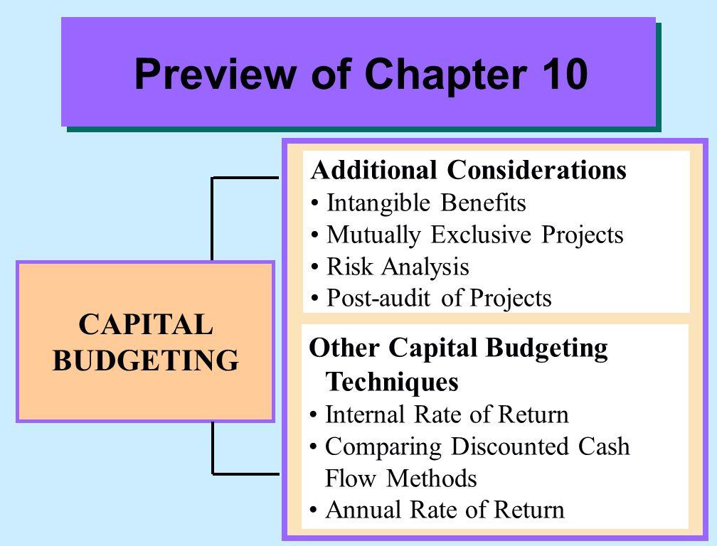 Explain the net present value method. Study Objective 3