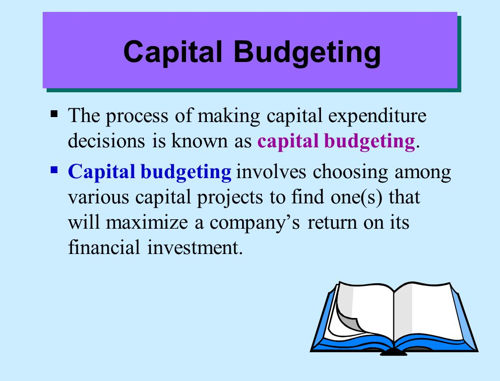 Discuss the capital budgeting evaluation process, and explain what inputs are used in capital budgeting.