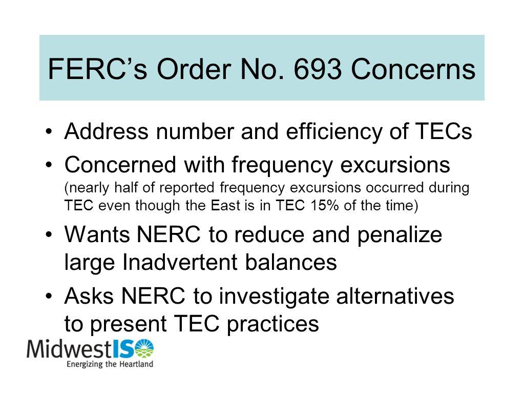 FERC's Order No.