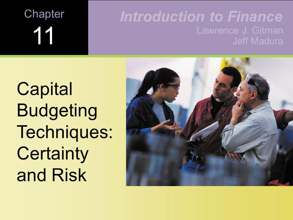 11-31 Copyright © 2001 Addison-Wesley Risk-Adjusted Discount Rates (RADR) Figure 11.6