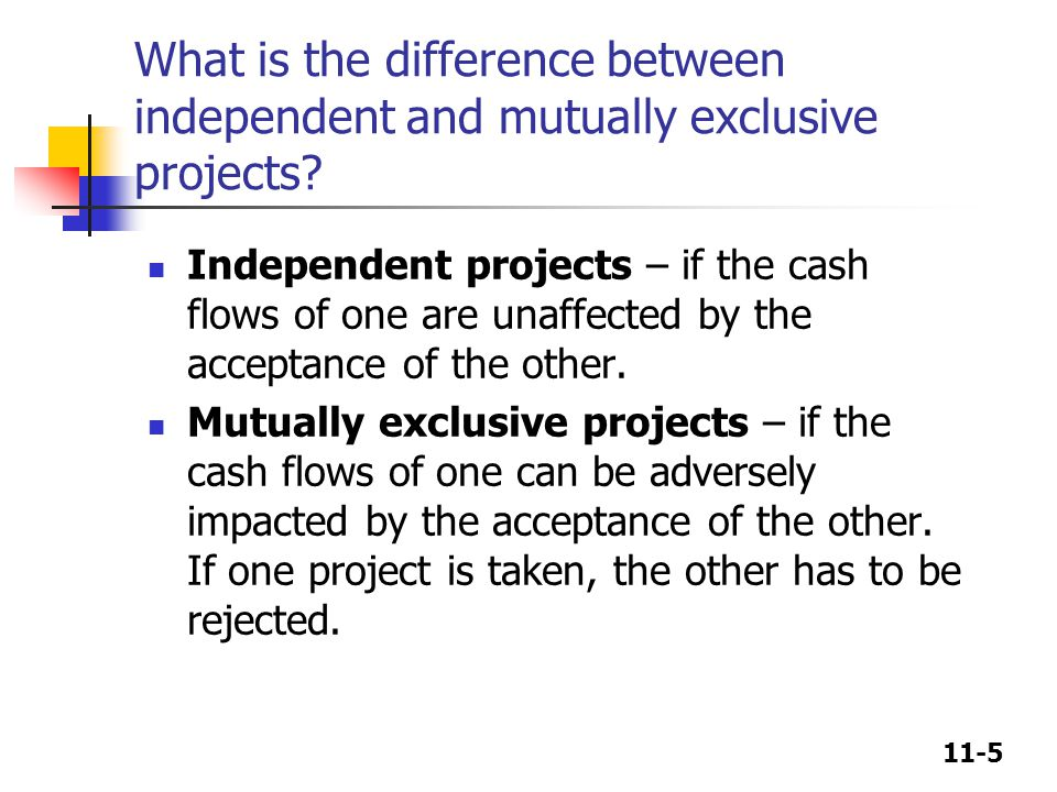 11-6 What is the difference between normal and non-normal cash flow streams.