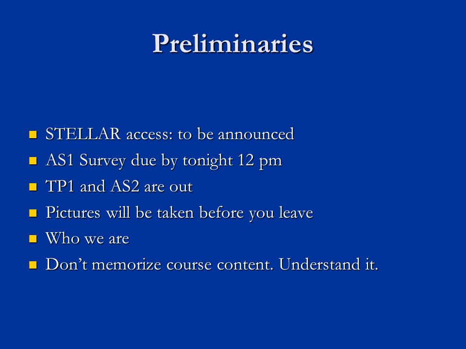 Preliminaries STELLAR access: http://stellar.mit.edu/S/course/1/sp07/1.040/ STELLAR access: http://stellar.mit.edu/S/course/1/sp07/1.040/ http://stellar.mit.edu/S/course/1/sp07/1.040/ Next Tuesday Recitation: Skyscraper Part I Next Tuesday Recitation: Skyscraper Part I Please set up an appointment to discuss your AS2 if you choose emerging technologies (MF preferred) Please set up an appointment to discuss your AS2 if you choose emerging technologies (MF preferred) Office: 1-174 Office: 1-174 TA (50%) for our class TA (50%) for our class Send your resume (or brief your experience) by this Sunday Send your resume (or brief your experience) by this Sunday