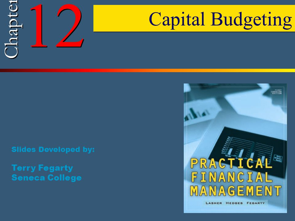 © 2006 by Nelson, a division of Thomson Canada Limited 2 Chapter 12 – Outline (1) Capital Budgeting Characteristics of Business Projects Capital Budgeting Techniques  Capital Budgeting Techniques—Payback  Capital Budgeting Techniques—Net Present Value (NPV)  Capital Budgeting Techniques—Internal Rate of Return (IRR)  NPV Profile  Conflicting Results Between IRR and NPV  NPV and IRR Solutions Using Spreadsheets