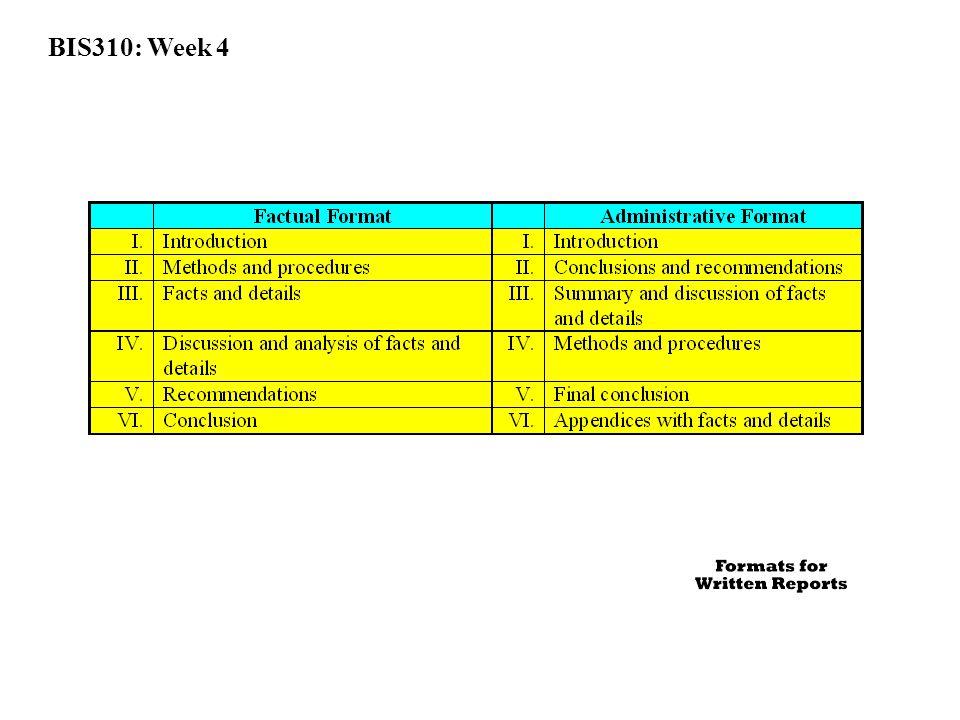 BIS310: Week 4