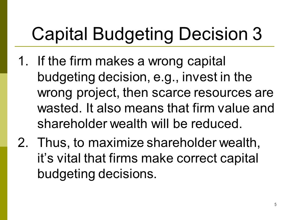 6 Capital budgeting rules  We will learn to apply 4 capital budgeting rules: 1.Net present value (NPV) 2.Internal rate of return (IRR) 3.Payback period (PBP) 4.Discounted payback period