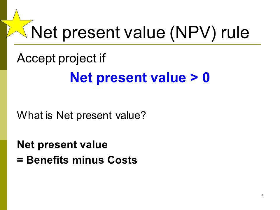 8 How do we measure benefits & costs.
