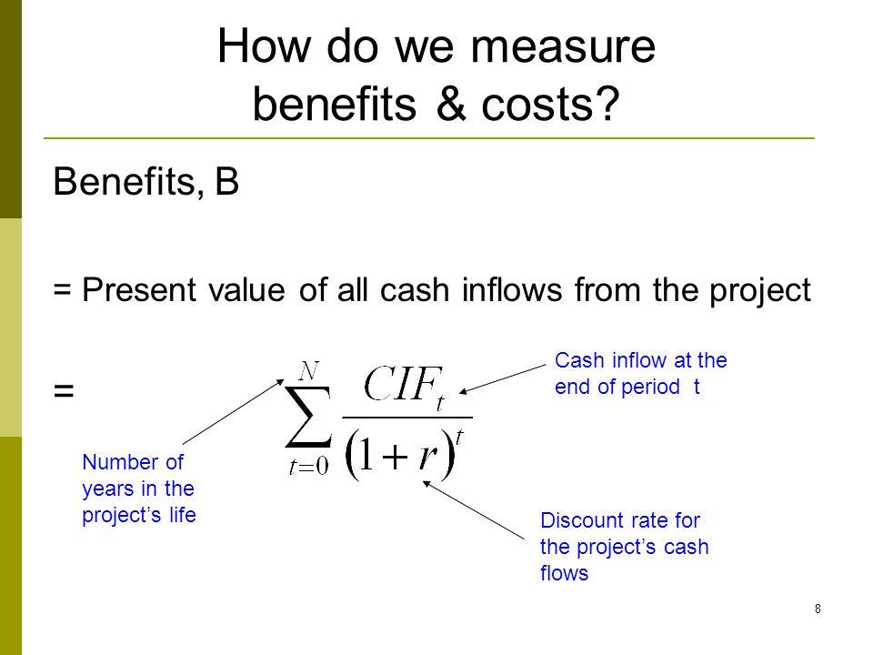 9 How do we measure benefits & costs.