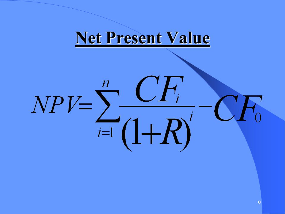 10 NPV example
