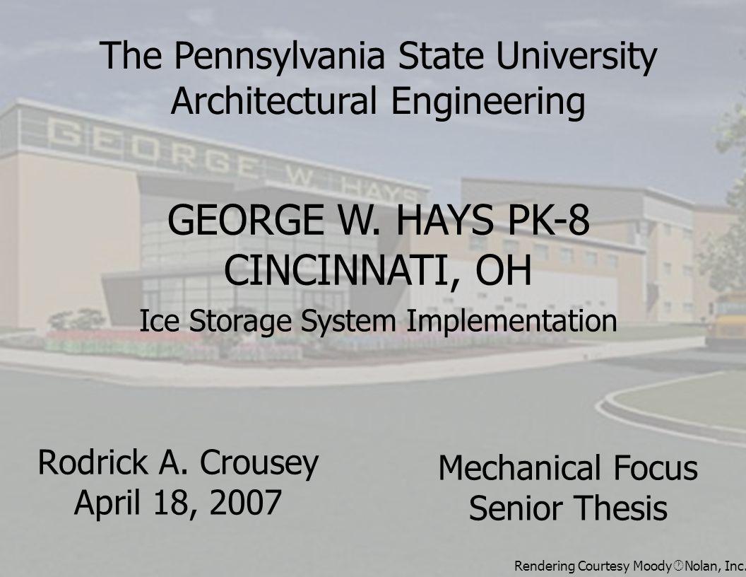 Rodrick A. Crousey April 18, 2007 GEORGE W.