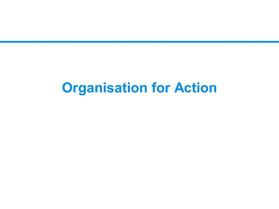 Organisation for Action