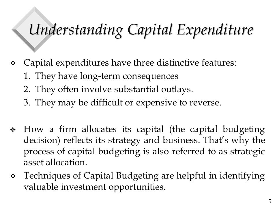 16 The Example v We will use the following example to demonstrate the techniques of capital budgeting v Assume that your company is investigating a new labor-saving machine that will cost $10,000.