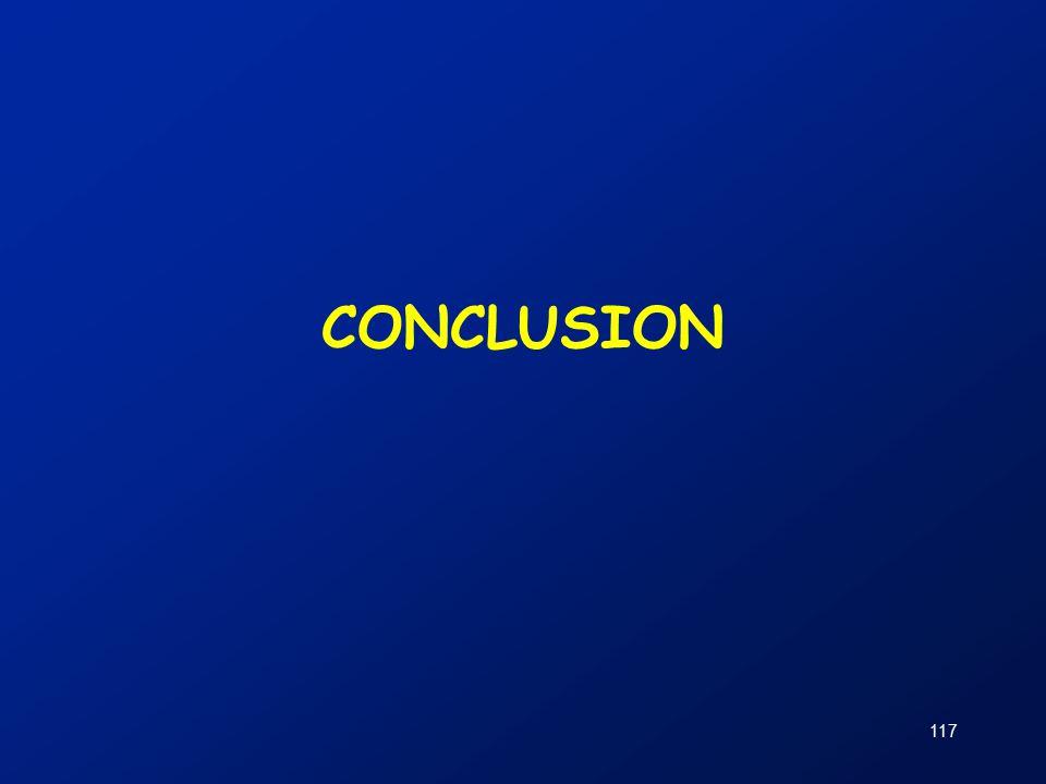 117 CONCLUSION