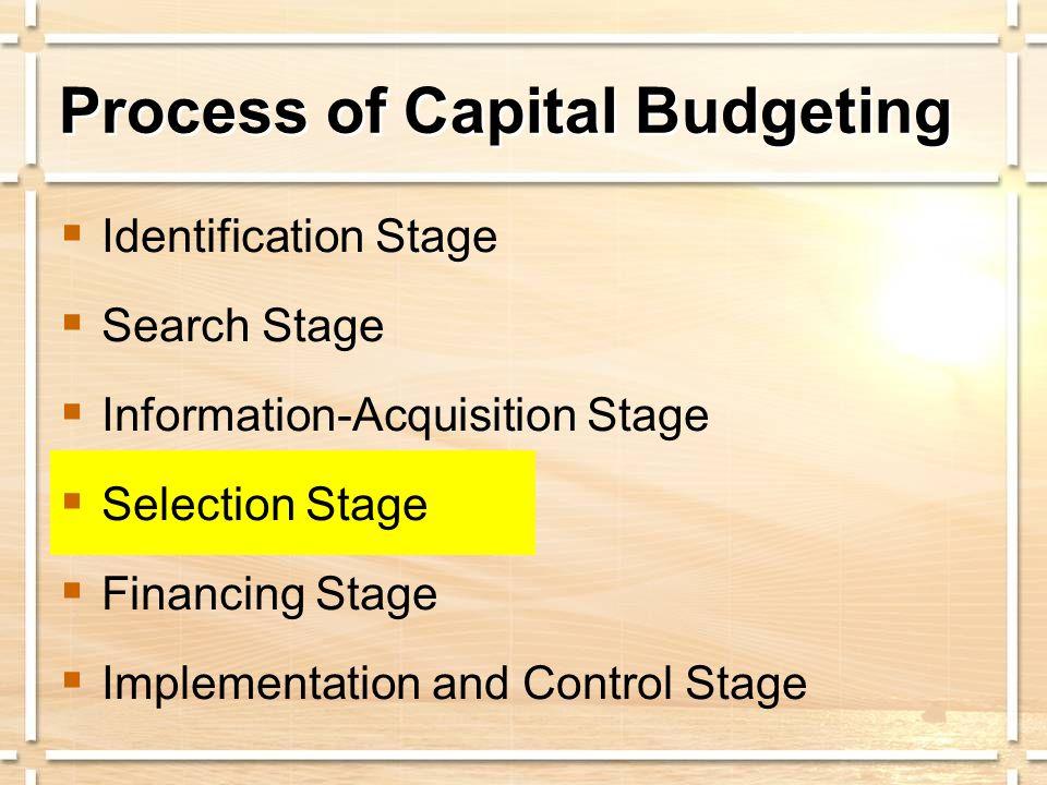 Return on Assets Must u Provide a return on the original investment.
