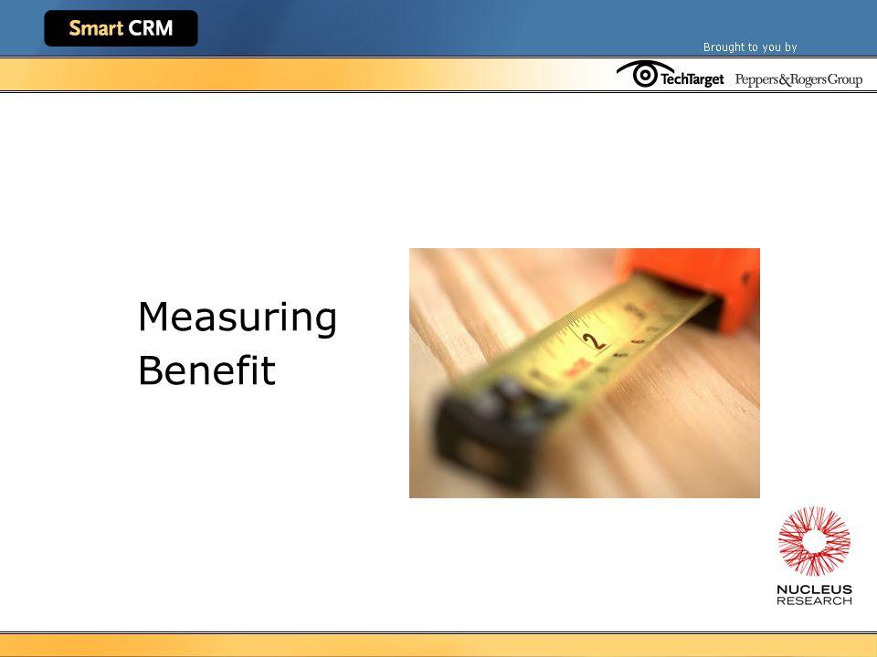Measuring Benefit