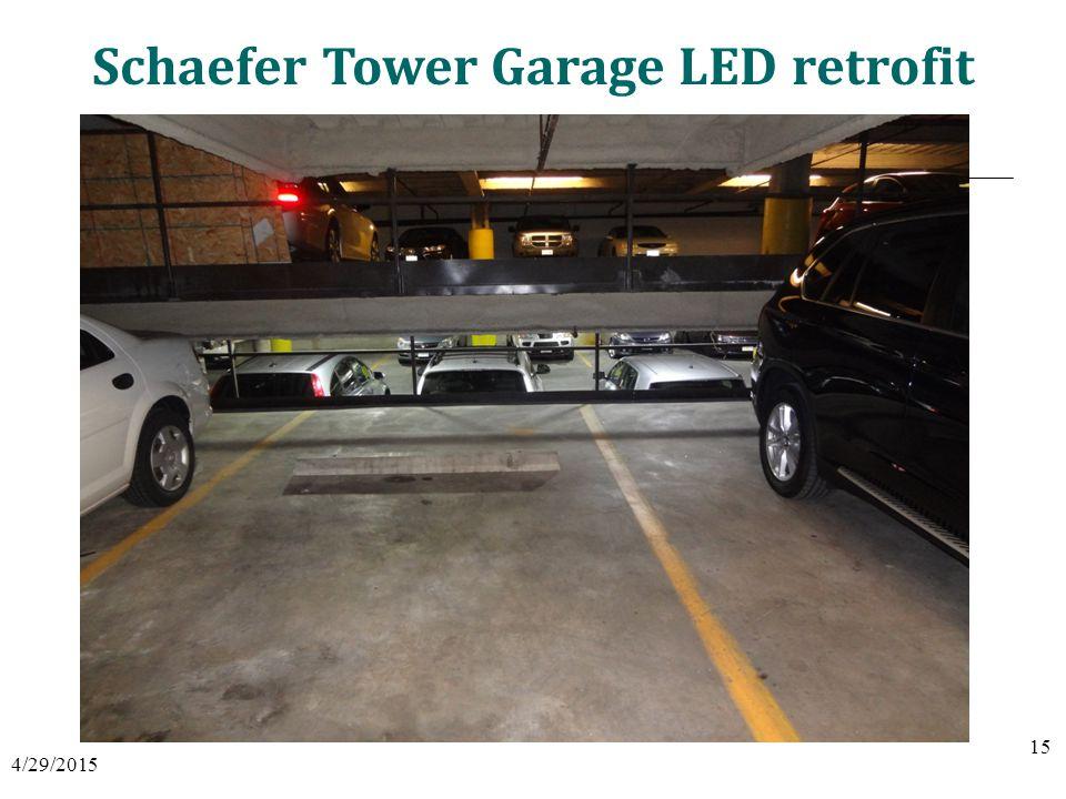 Schaefer Tower Garage LED retrofit 4/29/2015 15