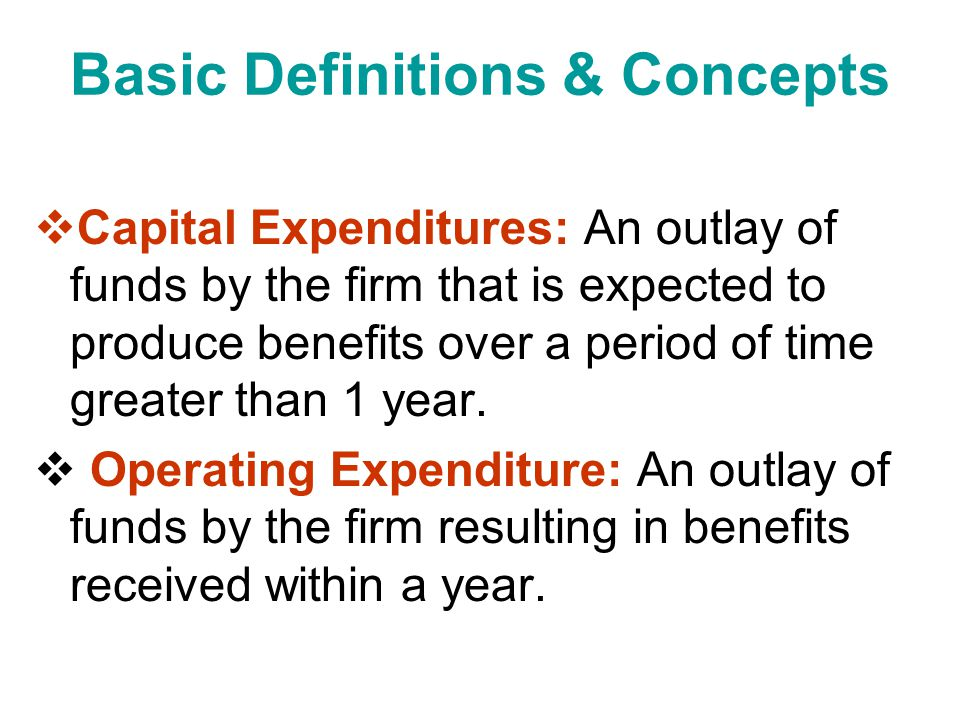 Basic Definitions & Concepts Independent Projects: Projects whose cash flows are unrelated or independent of one another; the acceptance of one does not eliminate the others from further consideration.
