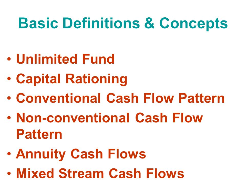 Internal Rate of Return (IRR) Calculation Process (for a Mixed Stream): St 1: Find the average cash inflow.