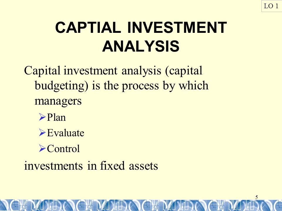 16 PRESENT VALUE : Annuity LO 2 Present value of an annuity measures the cost in today's dollars of a series of investments to be withdrawn at a point in the future.
