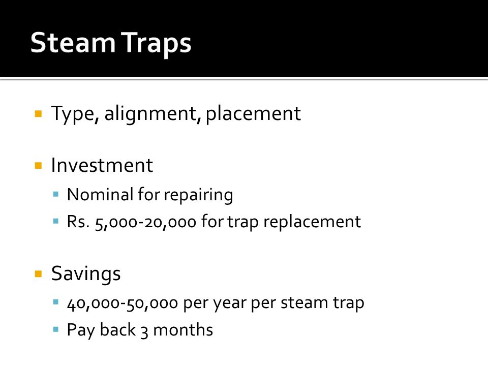  Type, alignment, placement  Investment  Nominal for repairing  Rs.