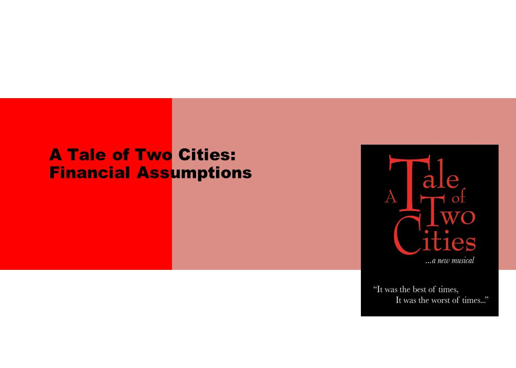 A Tale of Two Cities: Financial Assumptions