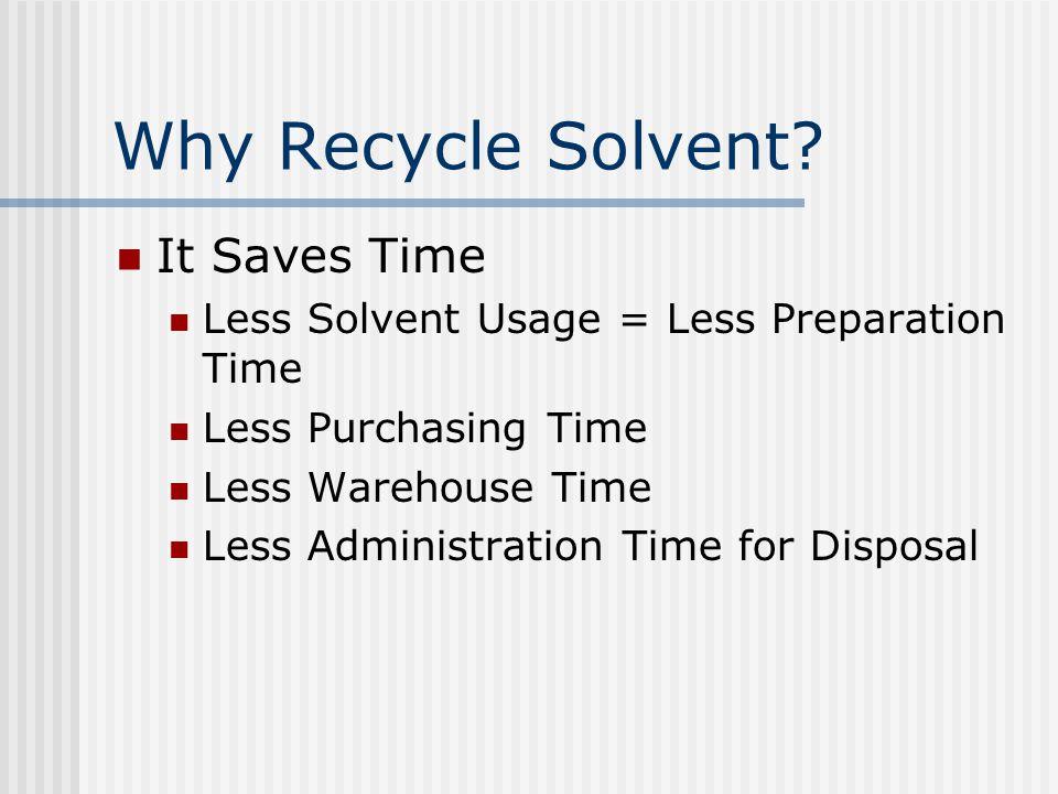 How Does SolventTrak Work