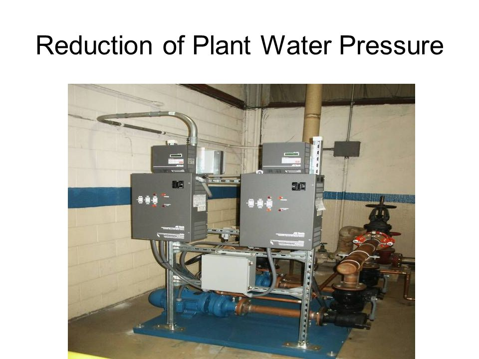 PHILIPS Reduction of Plant Water Pressure