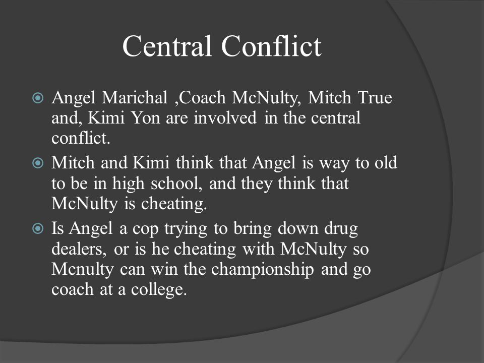 Minor Characters  Coach McNulty is the head football coach at Lincoln high school.