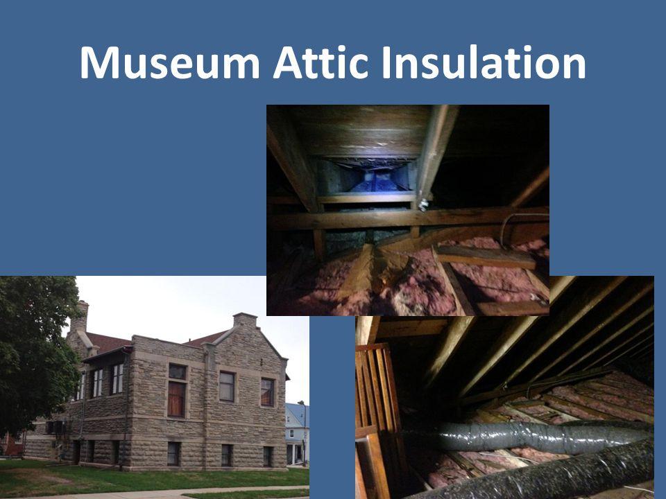 Museum Attic Insulation