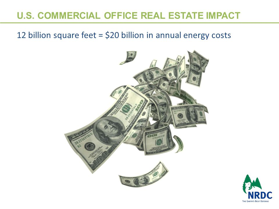 TENANT OPPORTUNITY Over 50% of a building's energy use comes from tenant spaces in commercial office buildings  Optimize energy performance, quality of spaces and building services through owner/ tenant collaboration  Base building energy efficiency goals and performance recognition ratings are enhanced through better tenant energy performance 3