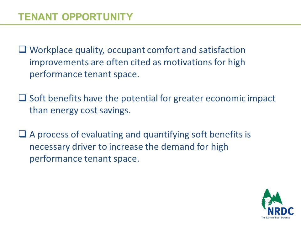 VALUE PROPOSITION 5 TENANTS: ↓ energy consumption ↓ operating & maintenance costs ↑ workplace comfort ↑ employee attraction/retention ↑ occupant satisfaction ↑ corporate responsibility & investor recognition REAL ESTATE OWNERS: ↓ energy consumption ↓ operations & maintenance cost ↓ capital plan & infrastructure upgrade cost ↑ occupancy & tenant quality ↑ tenant satisfaction ↑ renewal probability ↑ asset class, value & recognition