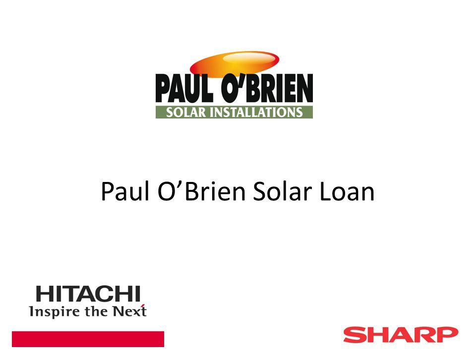Paul O'Brien Solar Loan