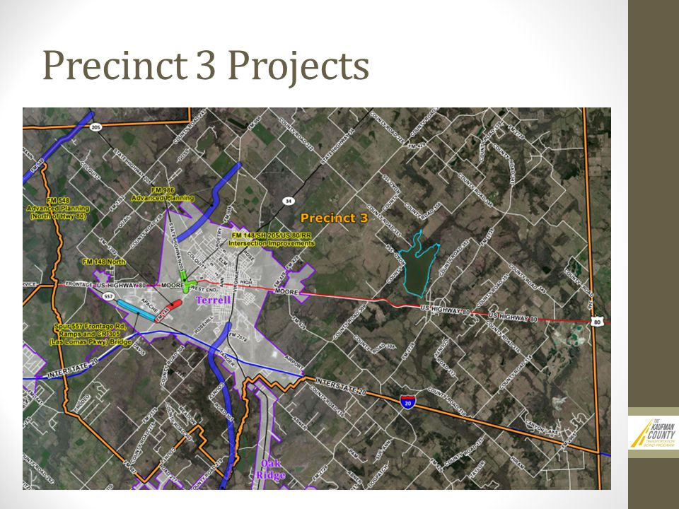 Precinct 3 Projects