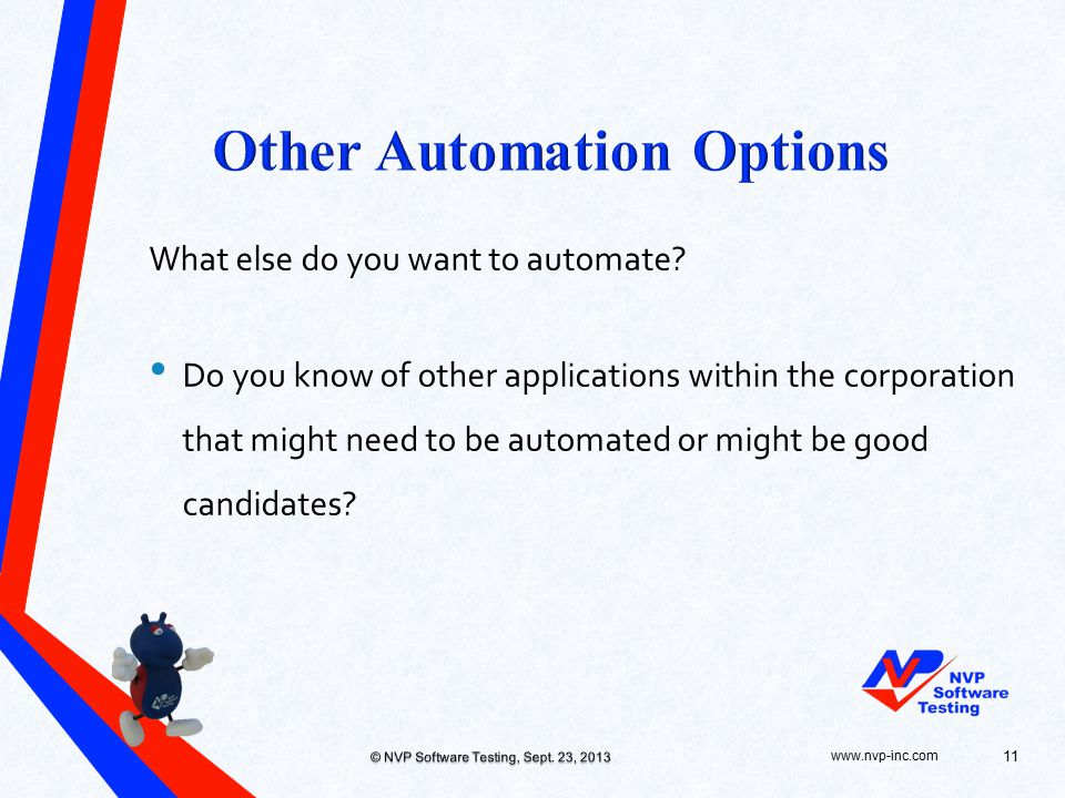 What else do you want to automate.