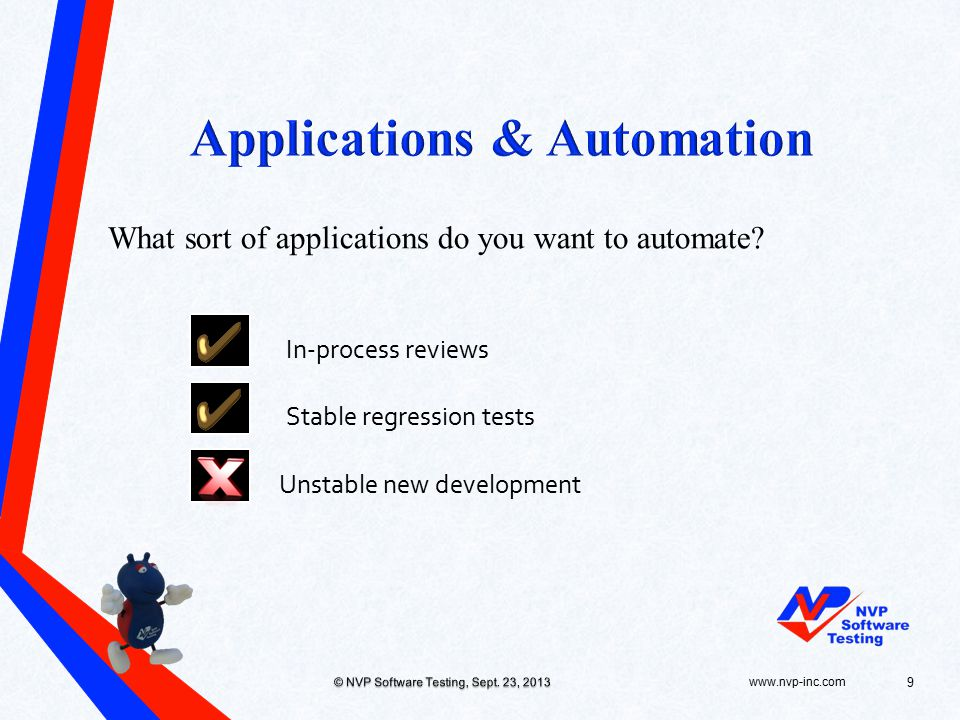 What sort of applications do you want to automate.
