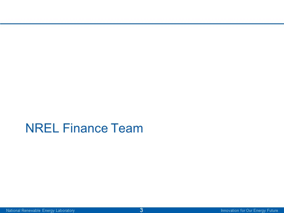 RE Project Finance Team – overview 4