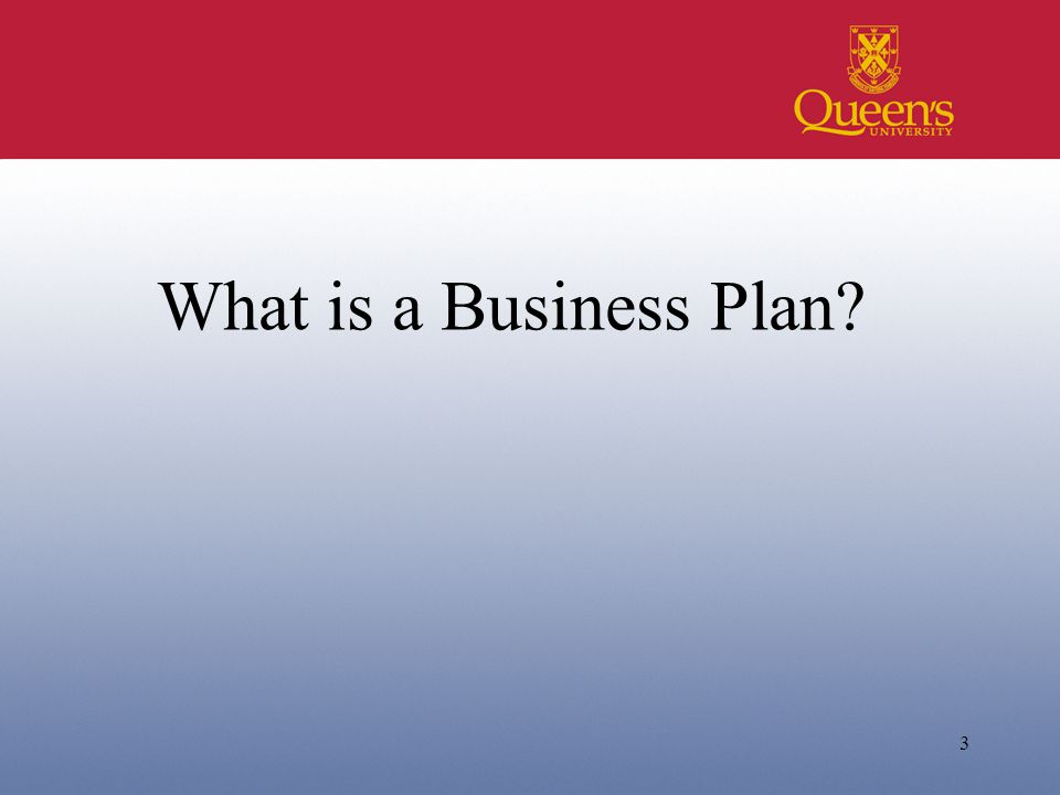 3 What is a Business Plan