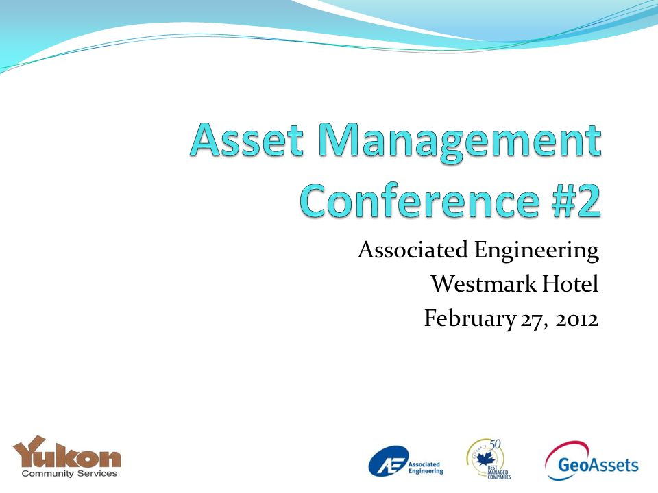 Associated Engineering Westmark Hotel February 27, 2012