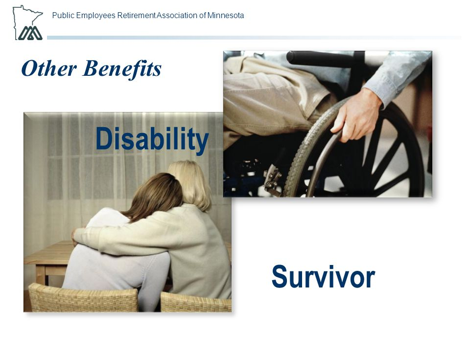 Public Employees Retirement Association of Minnesota Other Benefits Disability Survivor