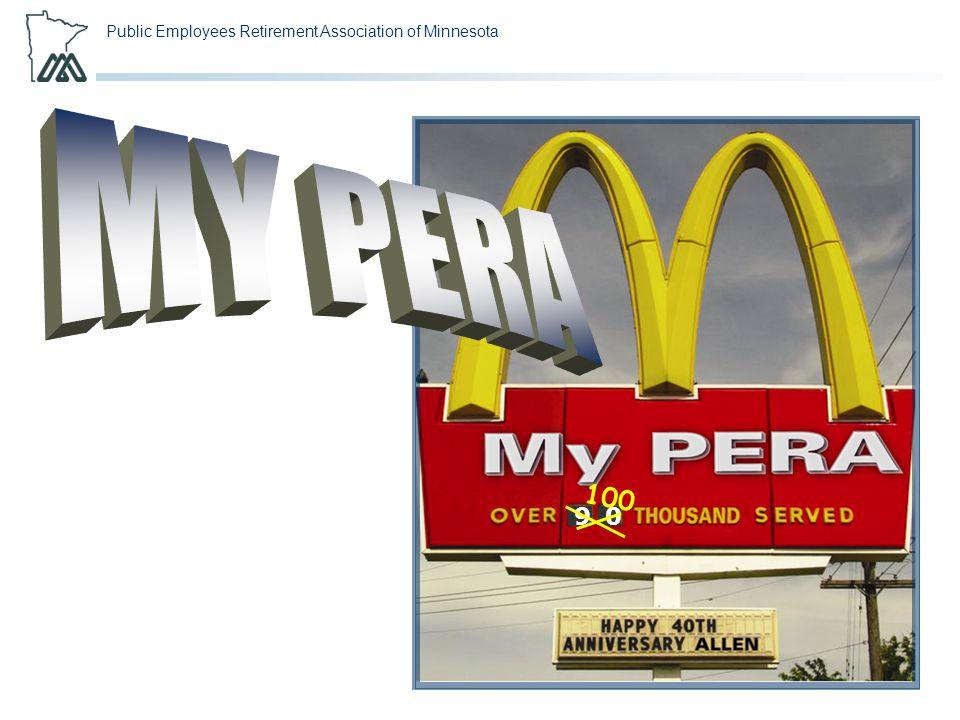 Public Employees Retirement Association of Minnesota 90 100