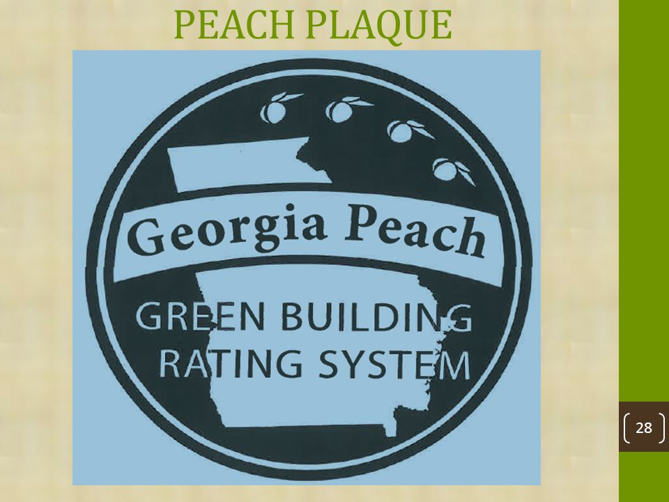 PEACH PLAQUE 28