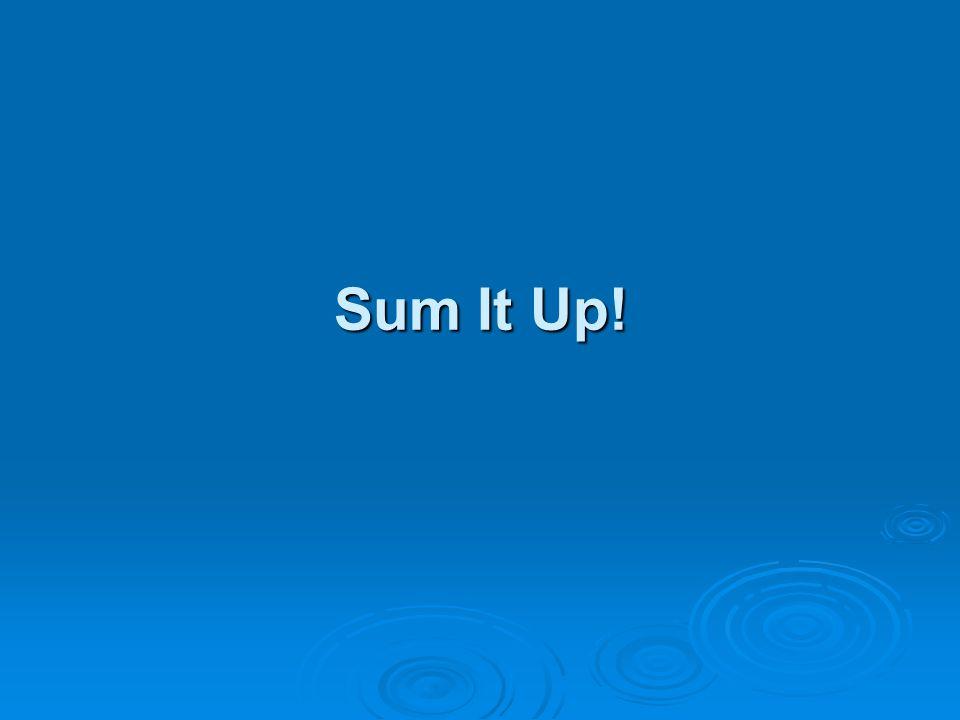 Sum It Up!
