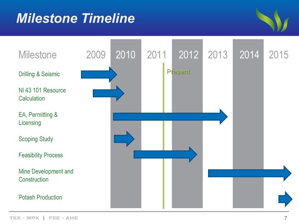 Milestone Timeline 7 Present