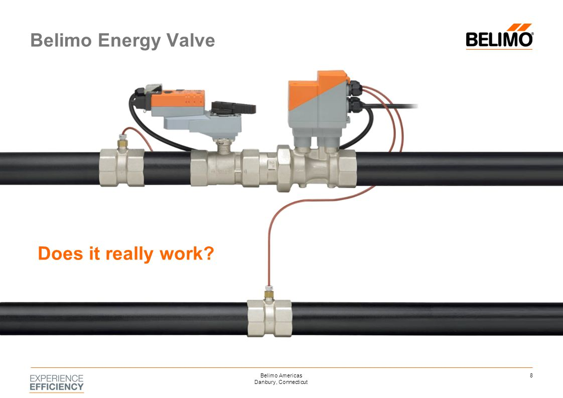 Belimo Energy Valve Does it really work? 8Belimo Americas Danbury, Connecticut