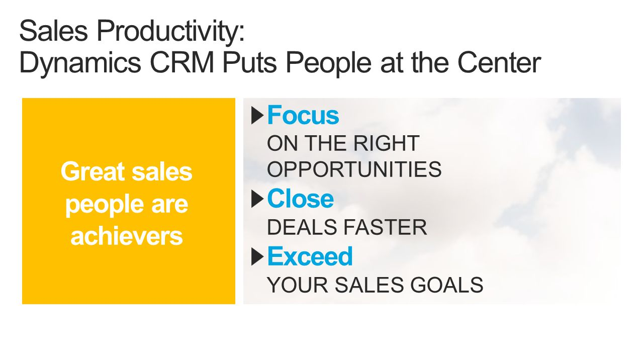 Customer Care: Dynamics CRM Puts Customers at the Center