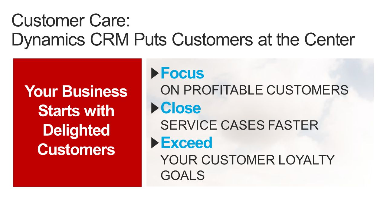 Personalize TAILOR CRM TO YOUR UNIQUE NEEDS Connect SEAMLESSLY INTEGRATE CRM TO EXISTING SYSTEMS Build RAPIDLY BUILD OTHER LOB APPLICATIONS Extended CRM: Dynamics CRM Puts Innovation at the Center