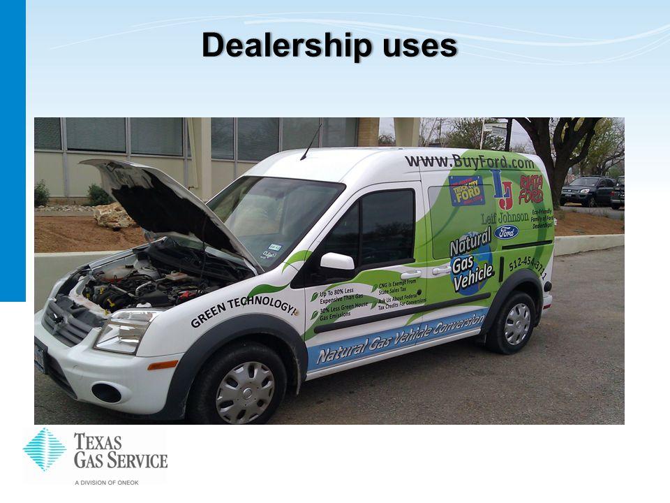 Dealership usesDealership uses