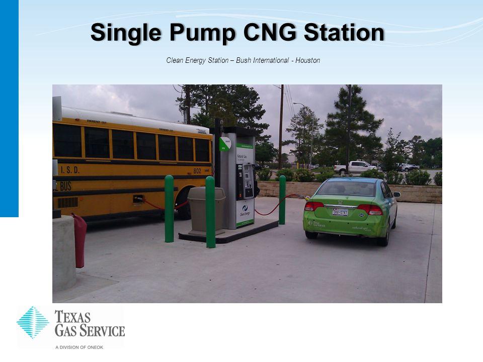 Single Pump CNG StationSingle Pump CNG Station Clean Energy Station – Bush International - Houston